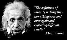 Einstein- different results