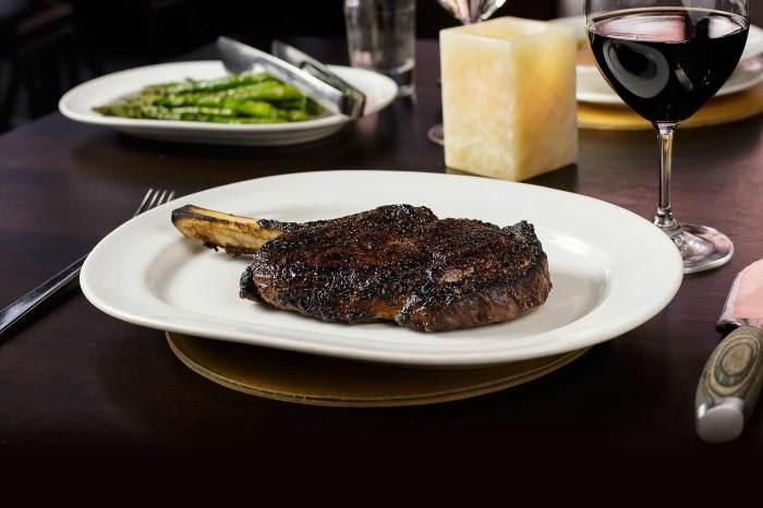 Here it is - steak