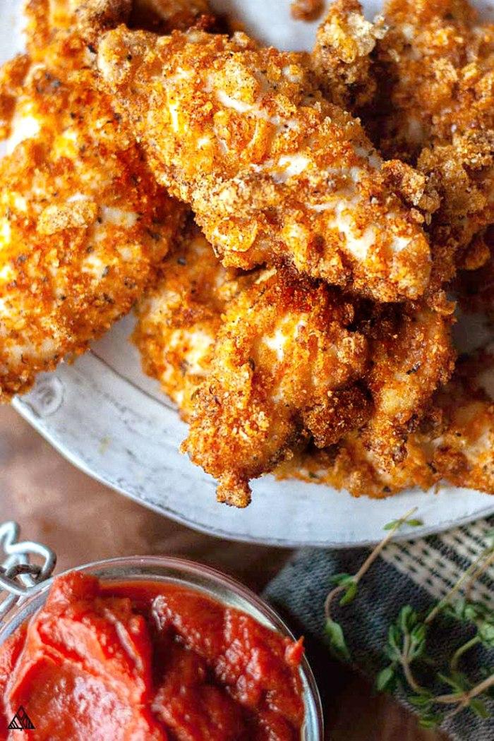 Pork Rind Frid chicken